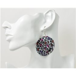 1p Boucles Oreilles en nacre naturelle Collection SHELLY Fashion 69593
