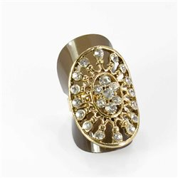 Bague Strass réglable Full Strass GOLD Vintage Collection 67990