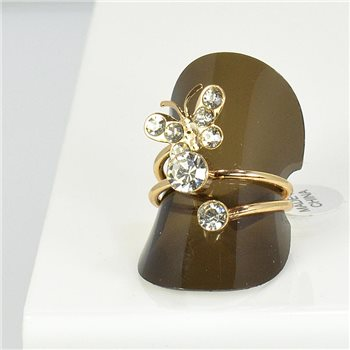 Bague Strass réglable New Style Full Strass 66055