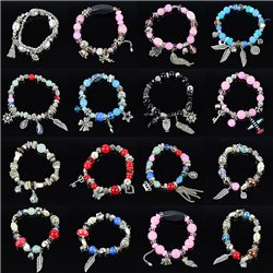Bracelet extensible Charms Passion de Perles Collection Shaya Bijoux 76136