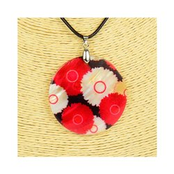 Pendentif en nacre de Coquillages peint Collection Collier SHELLY Fashion 76201