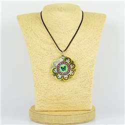 Pendentif en nacre de Coquillages peint Collection Collier SHELLY Fashion 76189