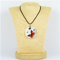 Pendentif en nacre de Coquillages peint Collection Collier SHELLY Fashion 76181
