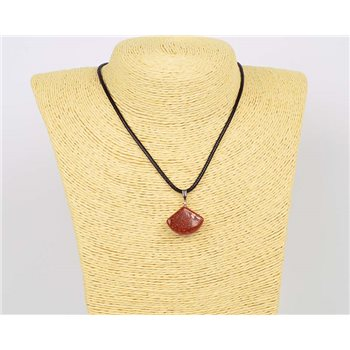 Pendentif (20mm) en Pierre naturelle SandStone Collection Collier MILEVA Bijoux 75927