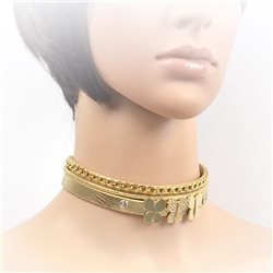 Collier ras de cou Choker Collection Alison Bijoux 71693
