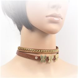Collier ras de cou Choker Collection Alison Bijoux 71695