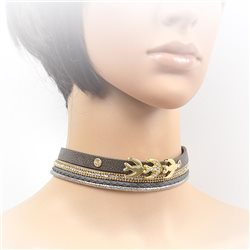 Collier ras de cou Choker Collection Alison Bijoux 71699