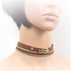 Collier ras de cou Choker Collection Alison Bijoux 71703