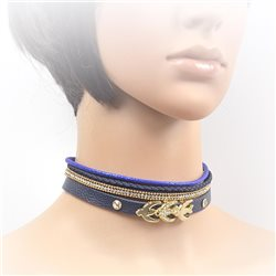 Collier ras de cou Choker Collection Alison Bijoux 71705